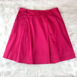 White House Black Market Pink Mini Skirt